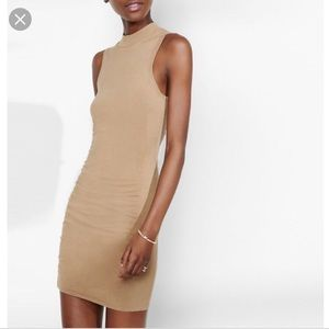 Express Mock Neck Sleeveless Sweater Dress